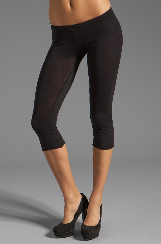 Velvet by Graham & Spencer Ritzy Gauzy Whisper Legging in Black