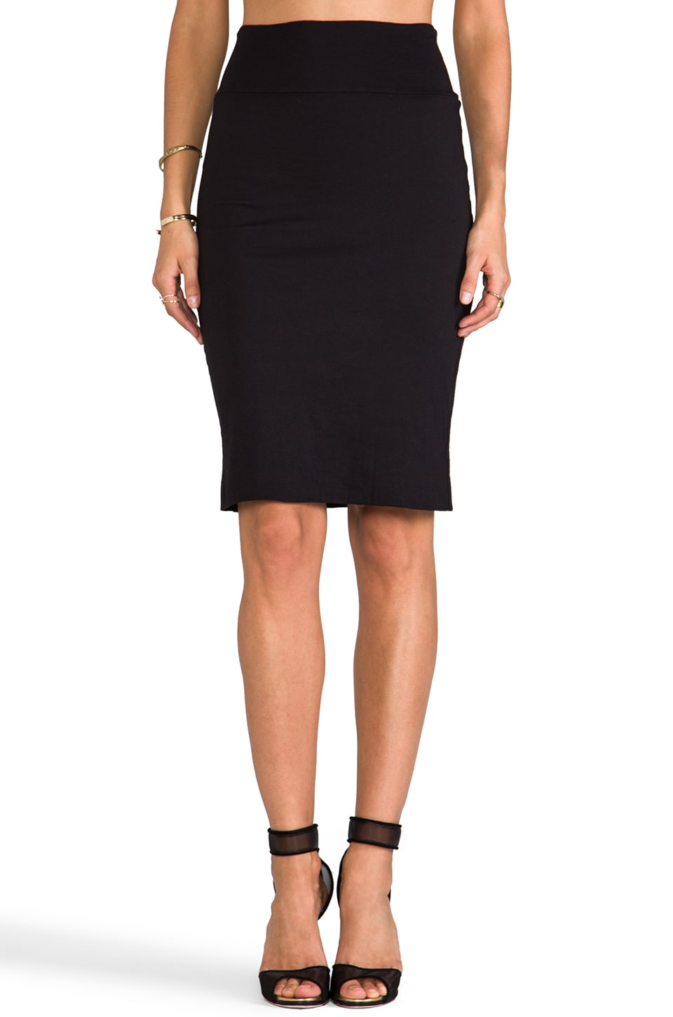 Velvet by Graham & Spencer Velvet Sintia Gauzy Whisper Skirt in Back