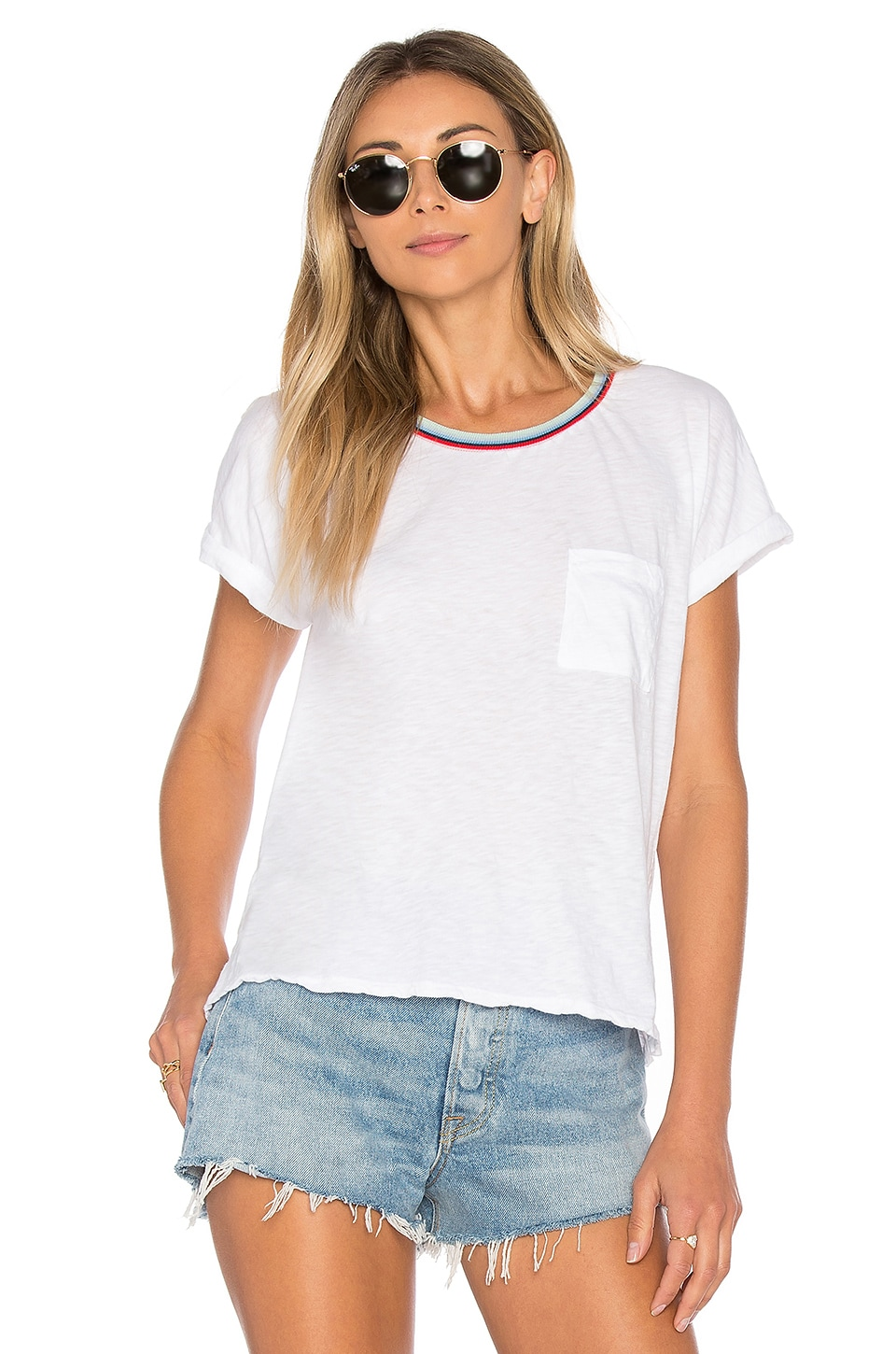 Velvet by Graham & Spencer Sonnet Tee in White