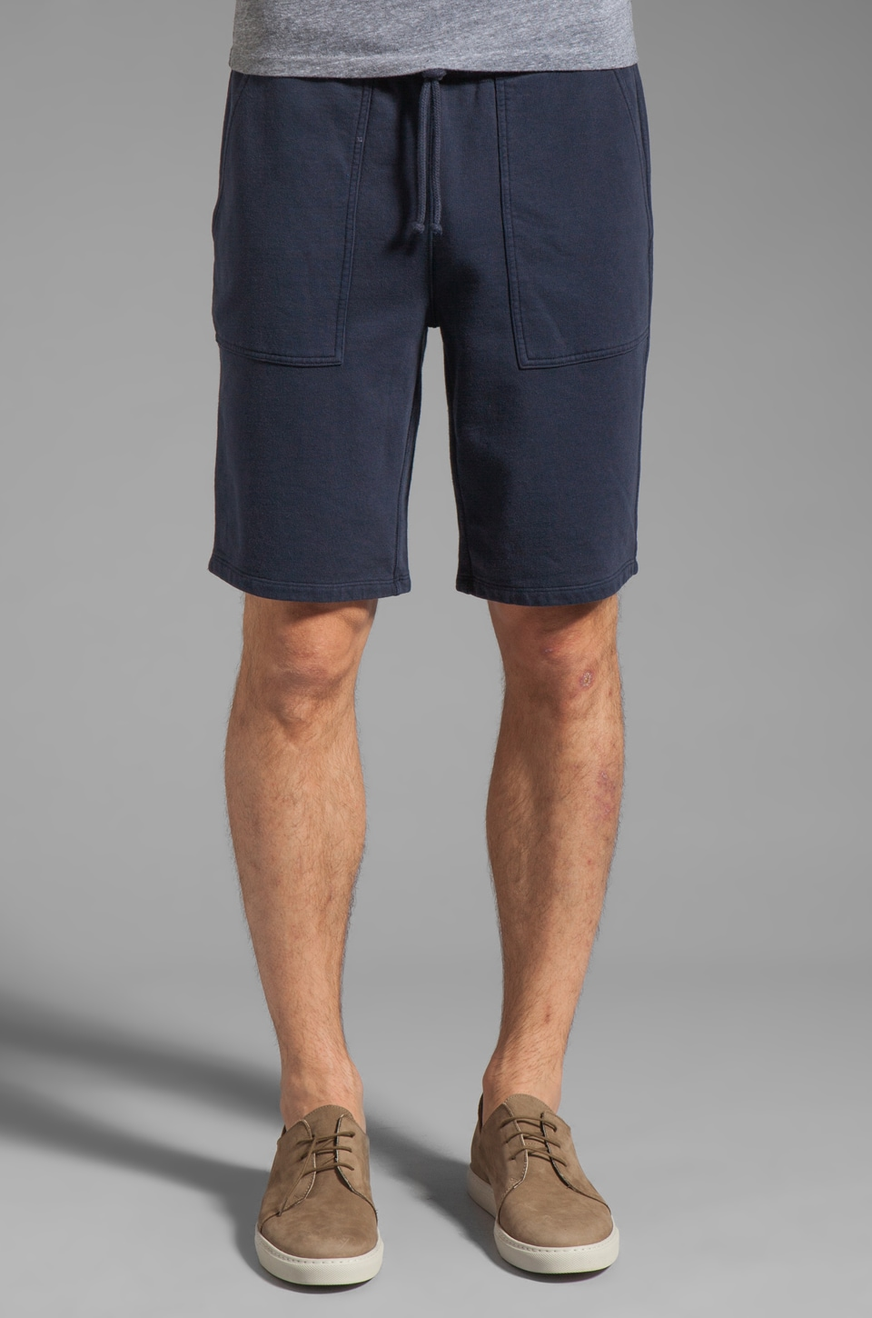 Vince French Terry Short in Coastal