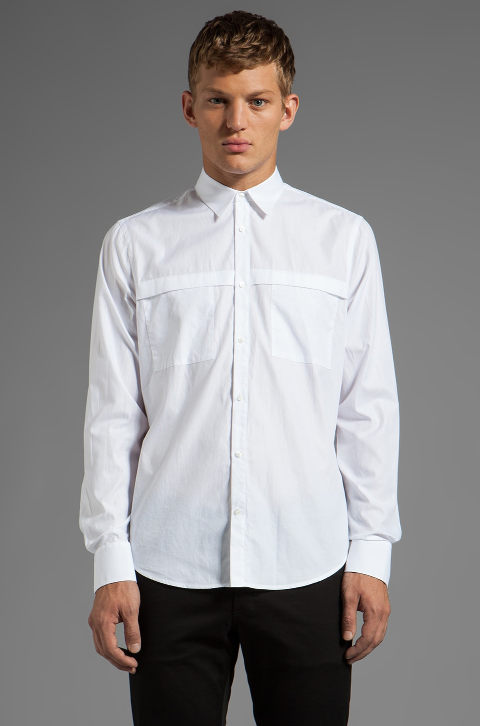 Vince Sport Utility Shirt in White