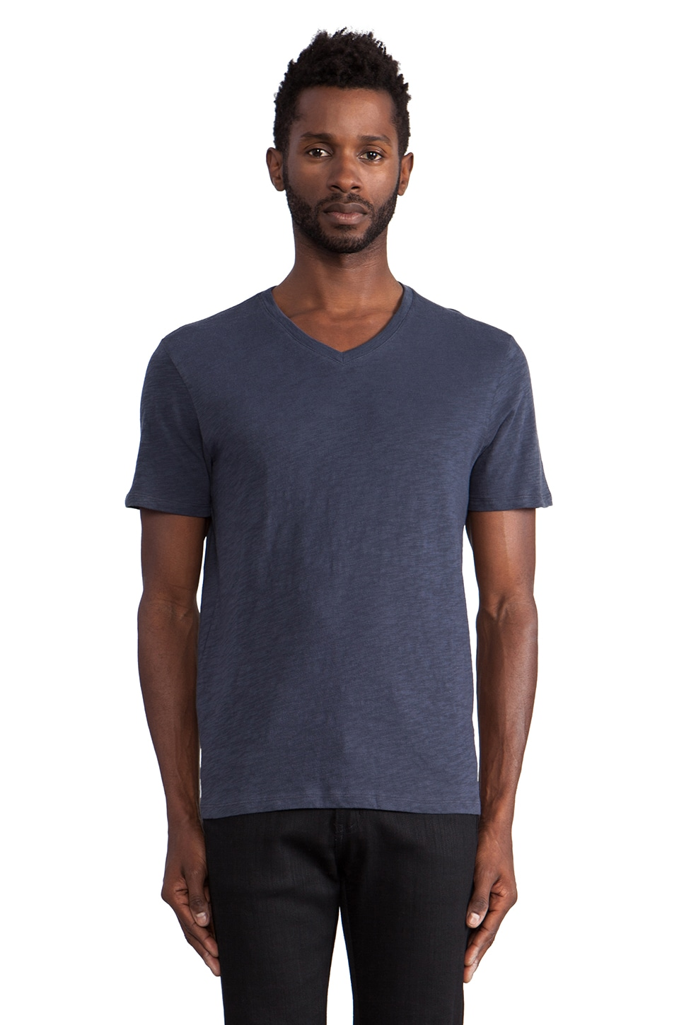 Vince Slub V-Neck in Orion