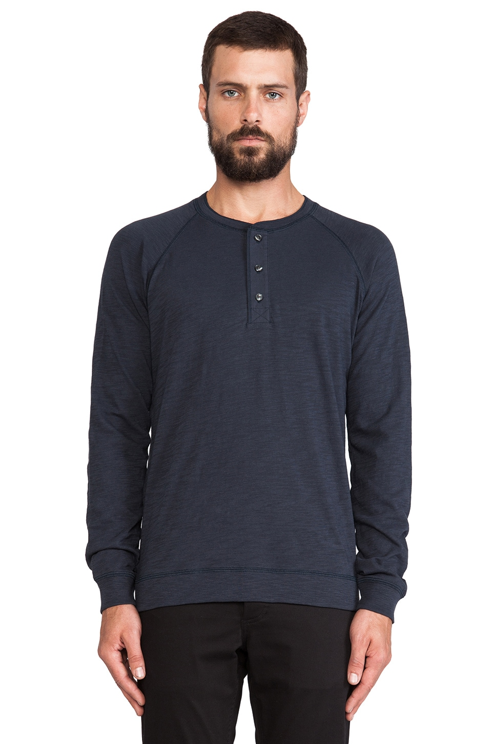 Vince Slub Henley in Twilight