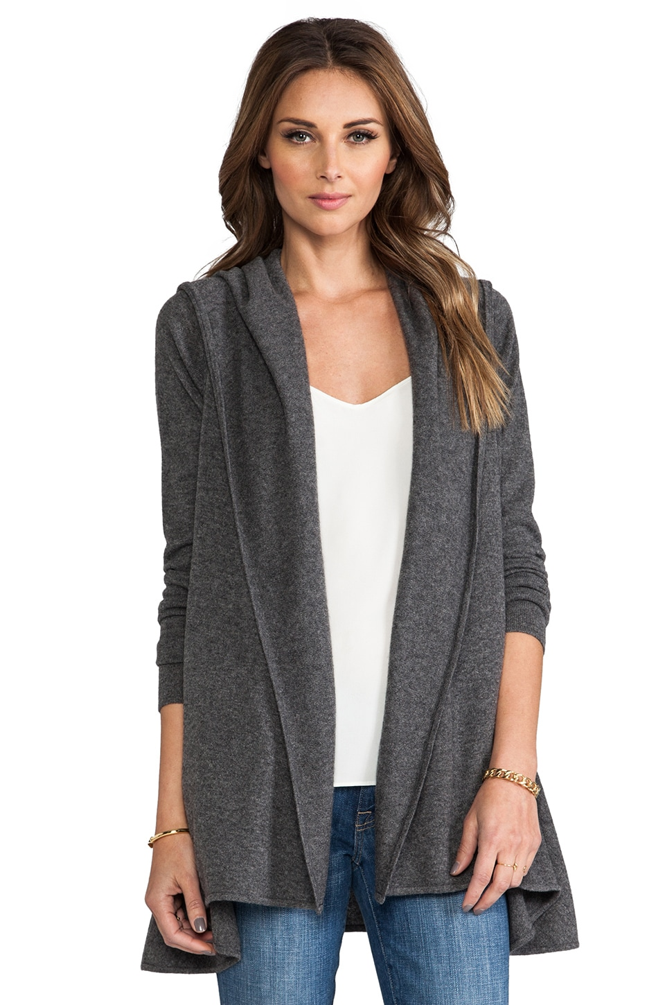 women cardigan for vince s cashmere cardigans coat hooded drape drapes