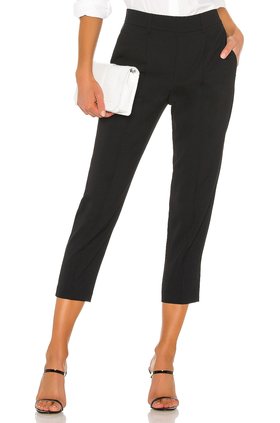Vince Easy Pull On Pant in Black
