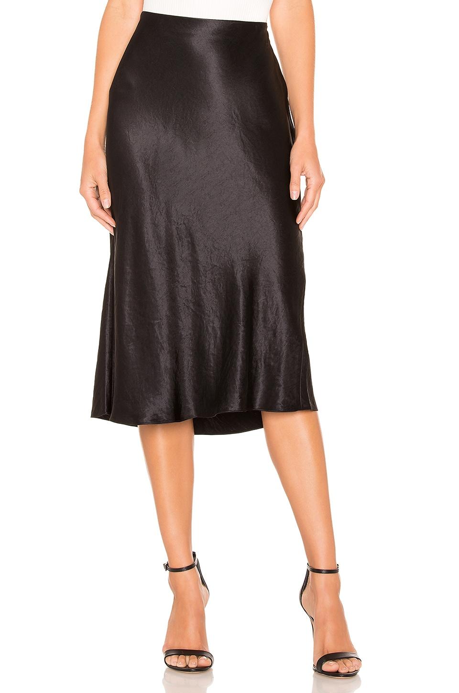 Vince Slip Skirt in Black