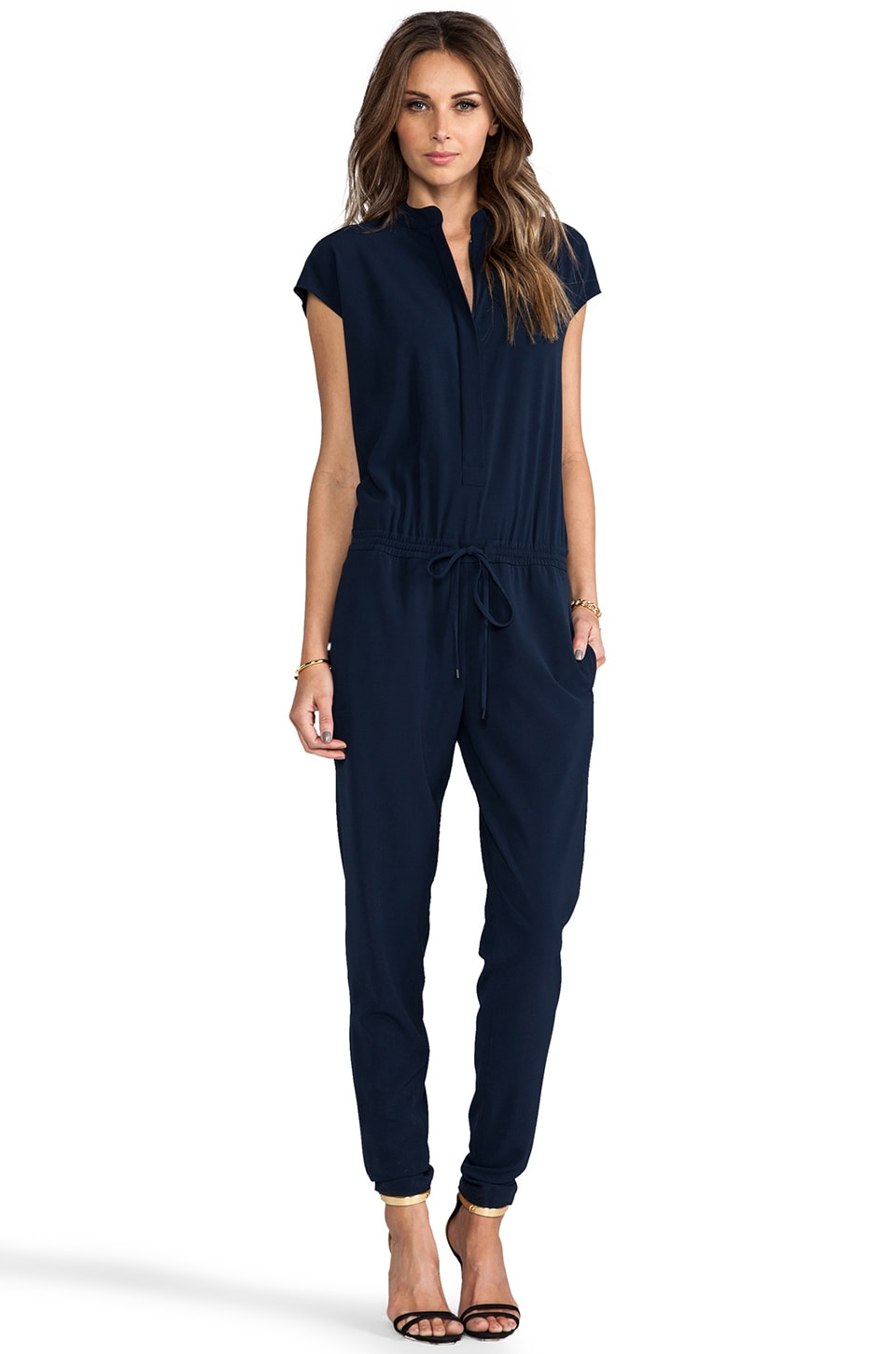 Vince Jumpsuit in Coastal