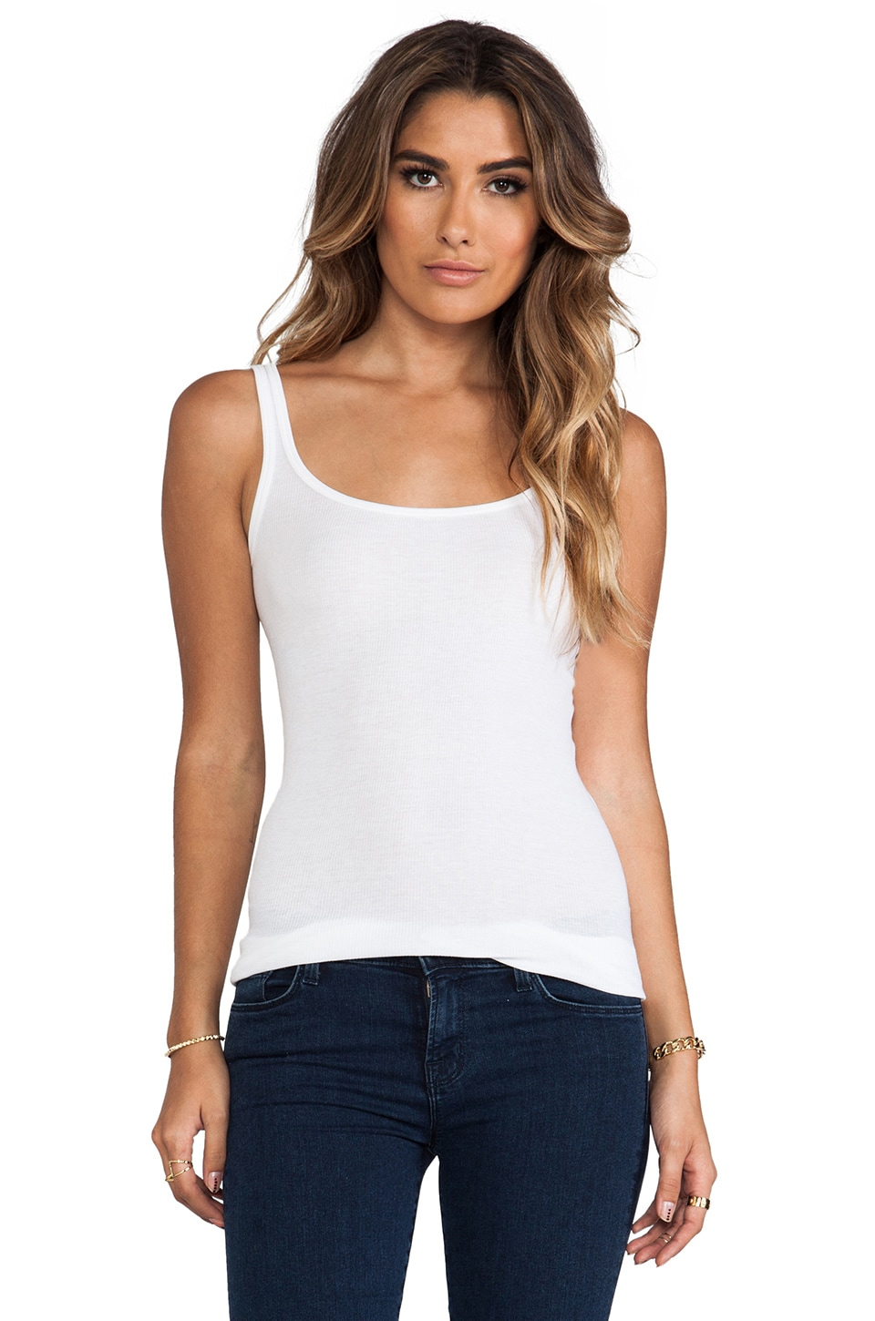 Vince Favorite Tank in White