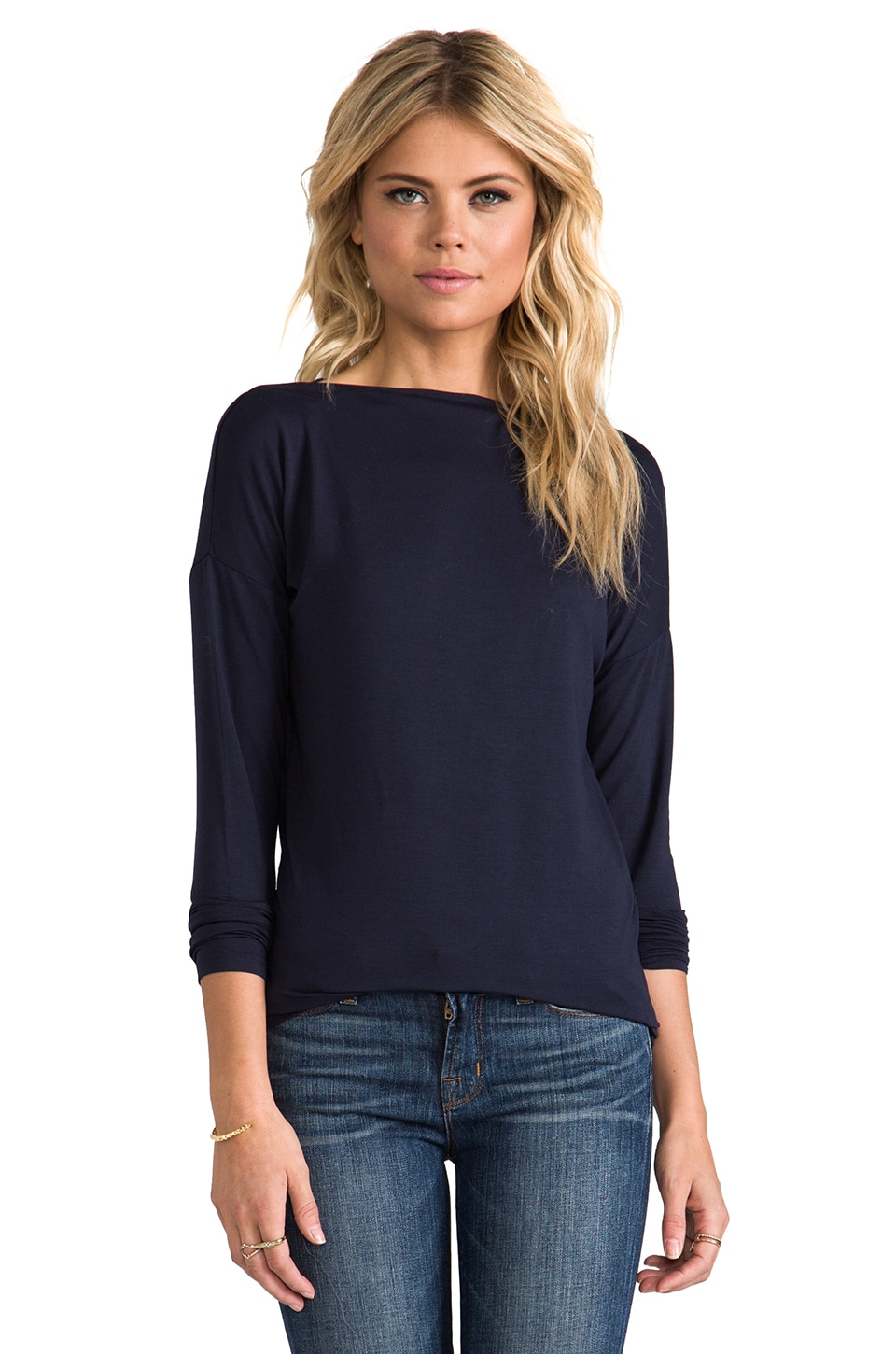 Vince Boatneck Tee in Coastal