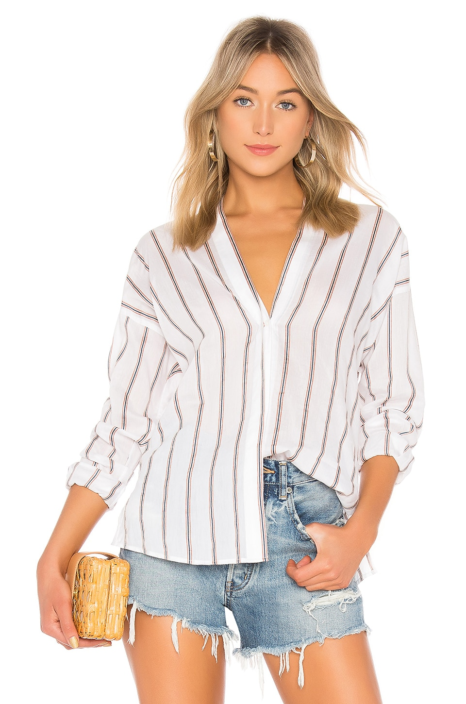 Textured Stripe Blouse
