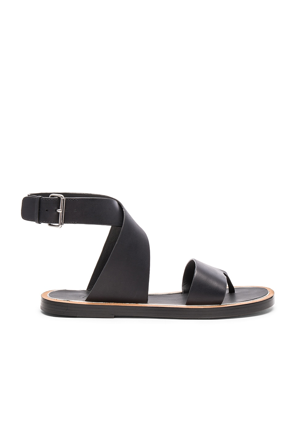 Vince Mailin Sandal in Black