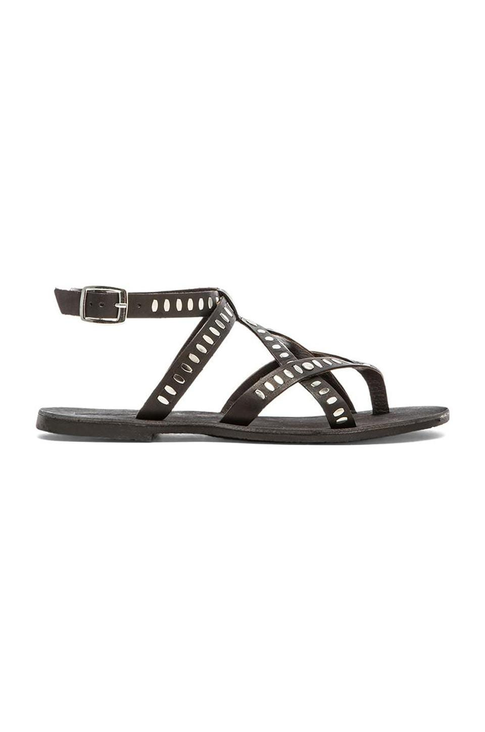 Rebels Alana Sandal in Black