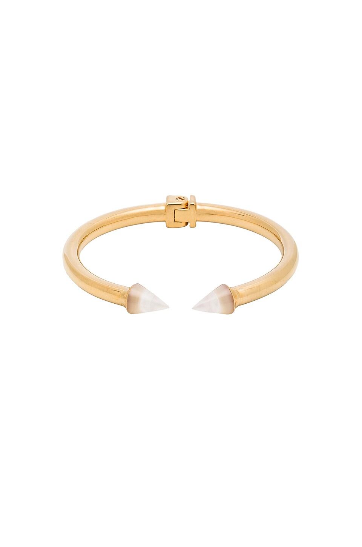 Vita Fede Mini Titan Stone Bracelet in Mother of Pearl & Gold