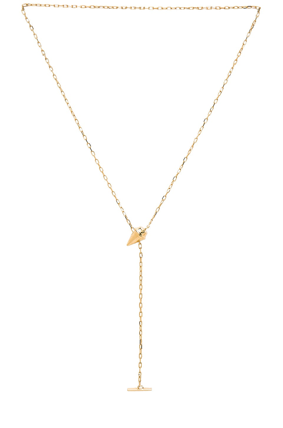 Vita Fede Delicate Titan Necklace in Gold