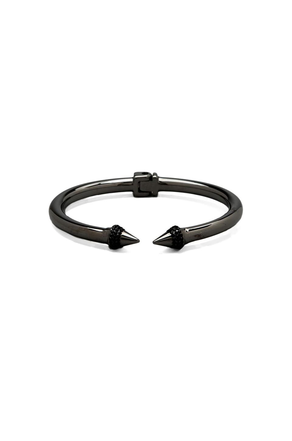 Vita Fede Mini Titan Color Crystal Bracelet in Gunmetal/Black