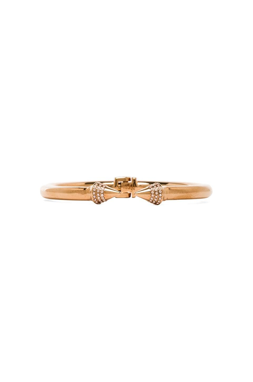 Vita Fede Mini Titan Crystal Bracelet in Rosegold & Champagne