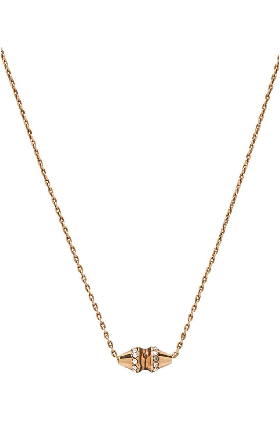 Vita Fede Renata Crystal Necklace in Gold