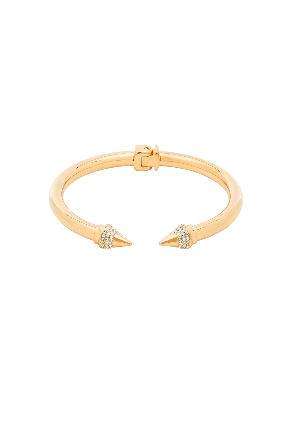 Vita Fede Mini Titan Crystal Bracelet in Gold/Clear
