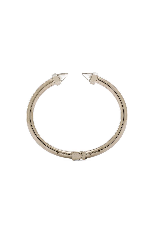 Vita Fede Mini Luciano Cono Bracelet in Silver & Clear Quartz