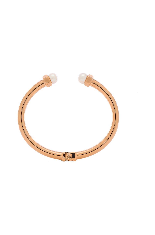 Vita Fede Mini Luciano Pearl Bracelet in Gold & Rose Gold & Silver