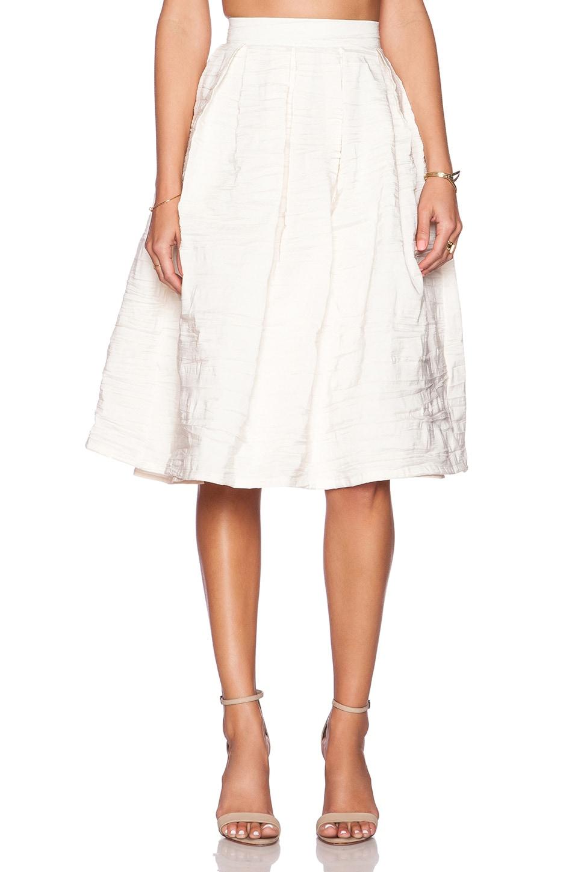 VIVIAN CHAN Natalie Skirt in Ivory