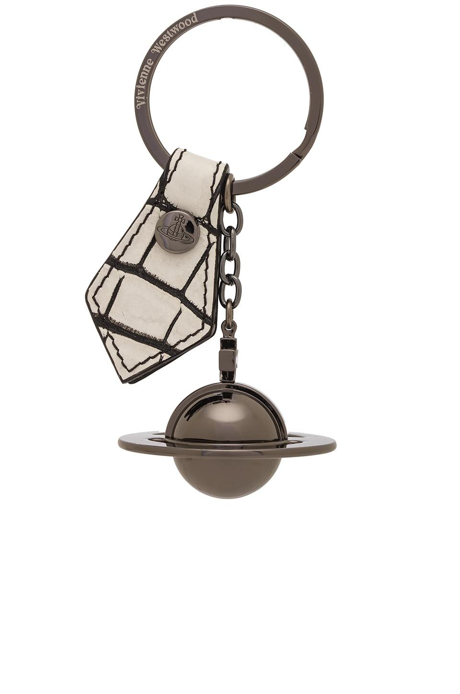 Round Orb Gun Gadget Key Ring by Vivienne Westwood