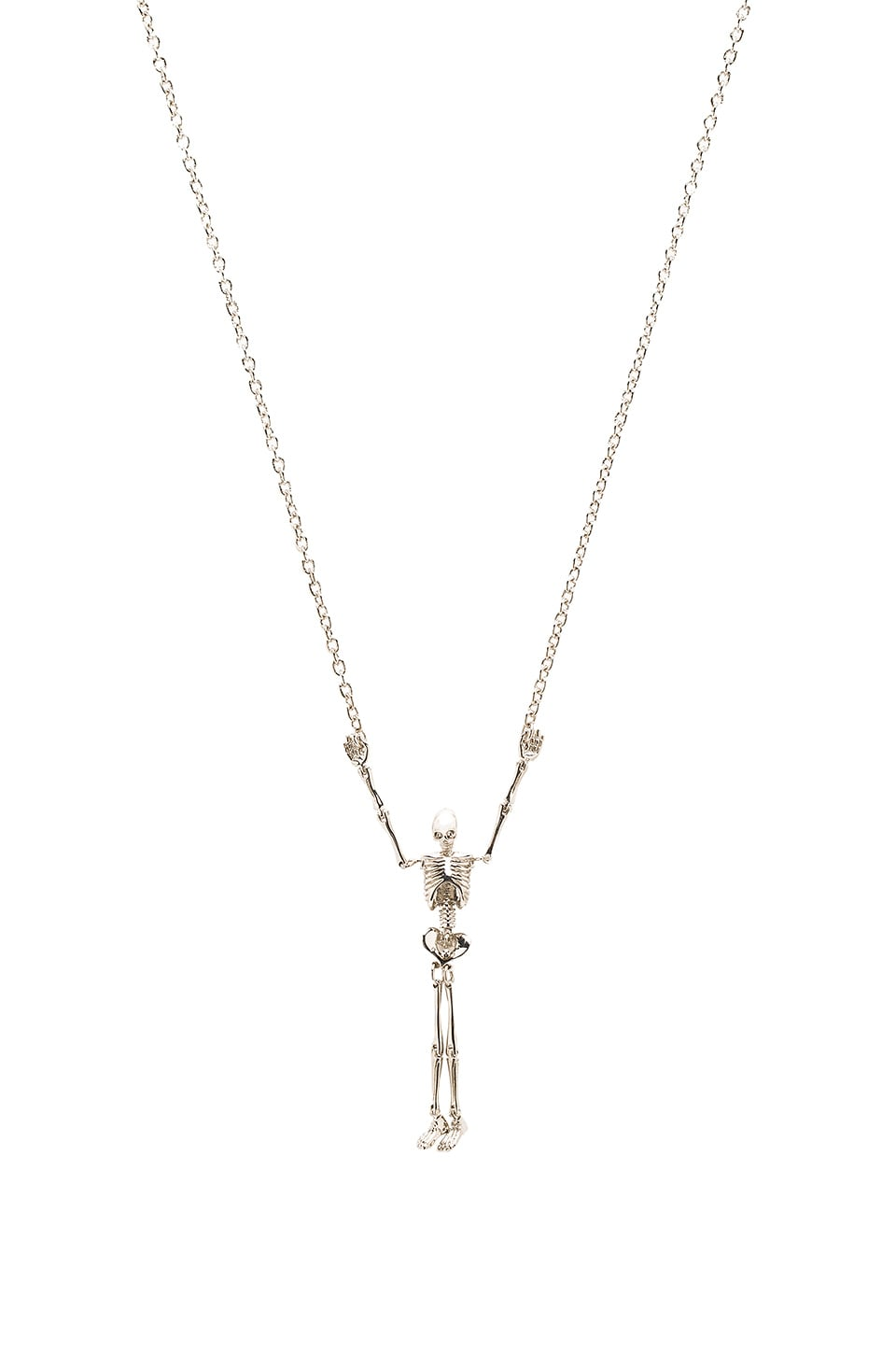 Skeleton Long Necklace by Vivienne Westwood