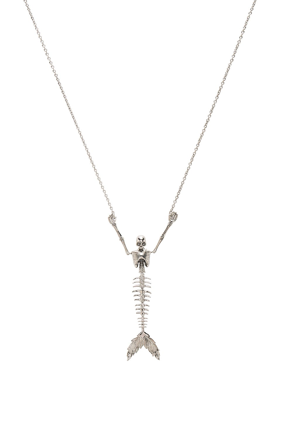 Ariel Skeleton Necklace by Vivienne Westwood