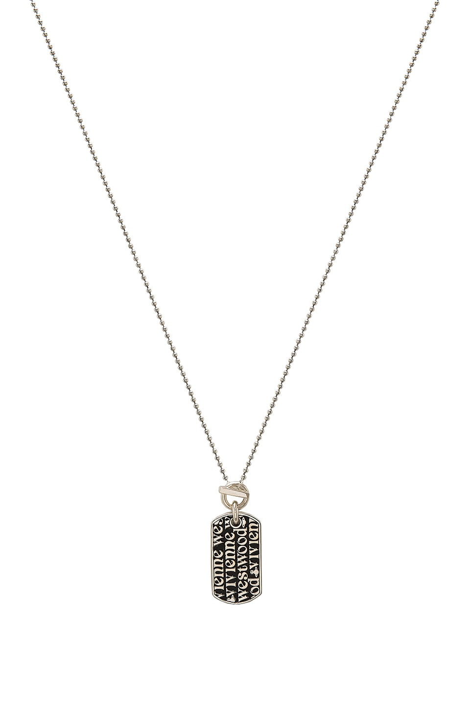 Angelo Long Tag Pendant by Vivienne Westwood