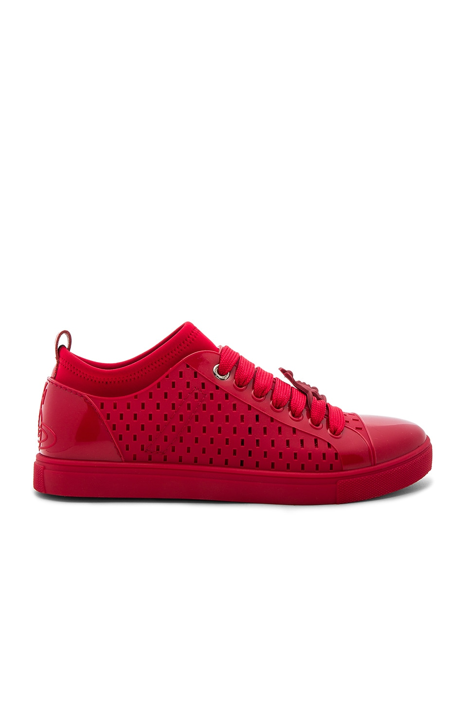 Orb Enameled Sneakers by Vivienne Westwood