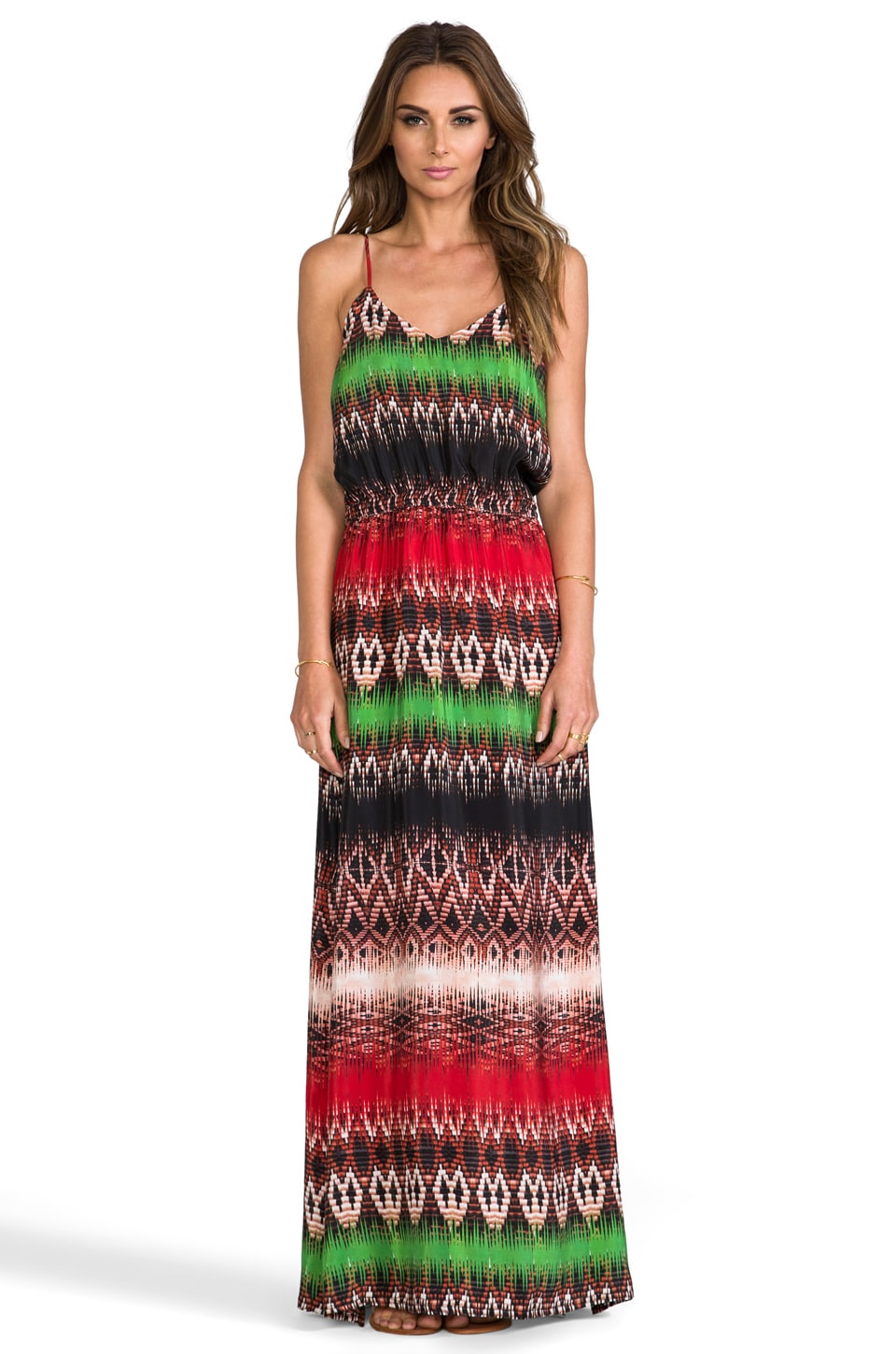 Vix Swimwear Mabel Long Dress in Paje