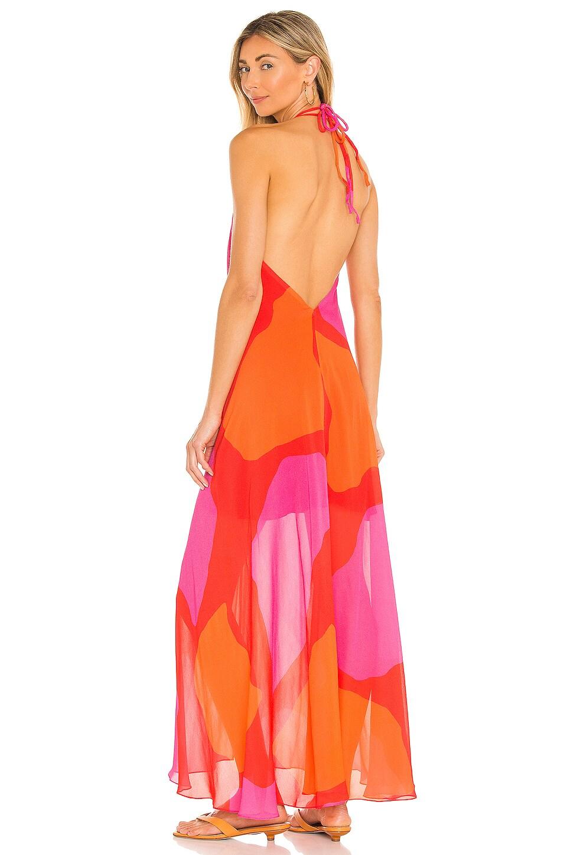 Vix Swimwear Scarf Dress in Artsy