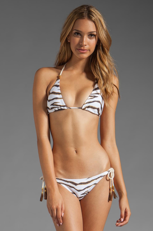 Vix Swimwear Jamaica Tri Top in White