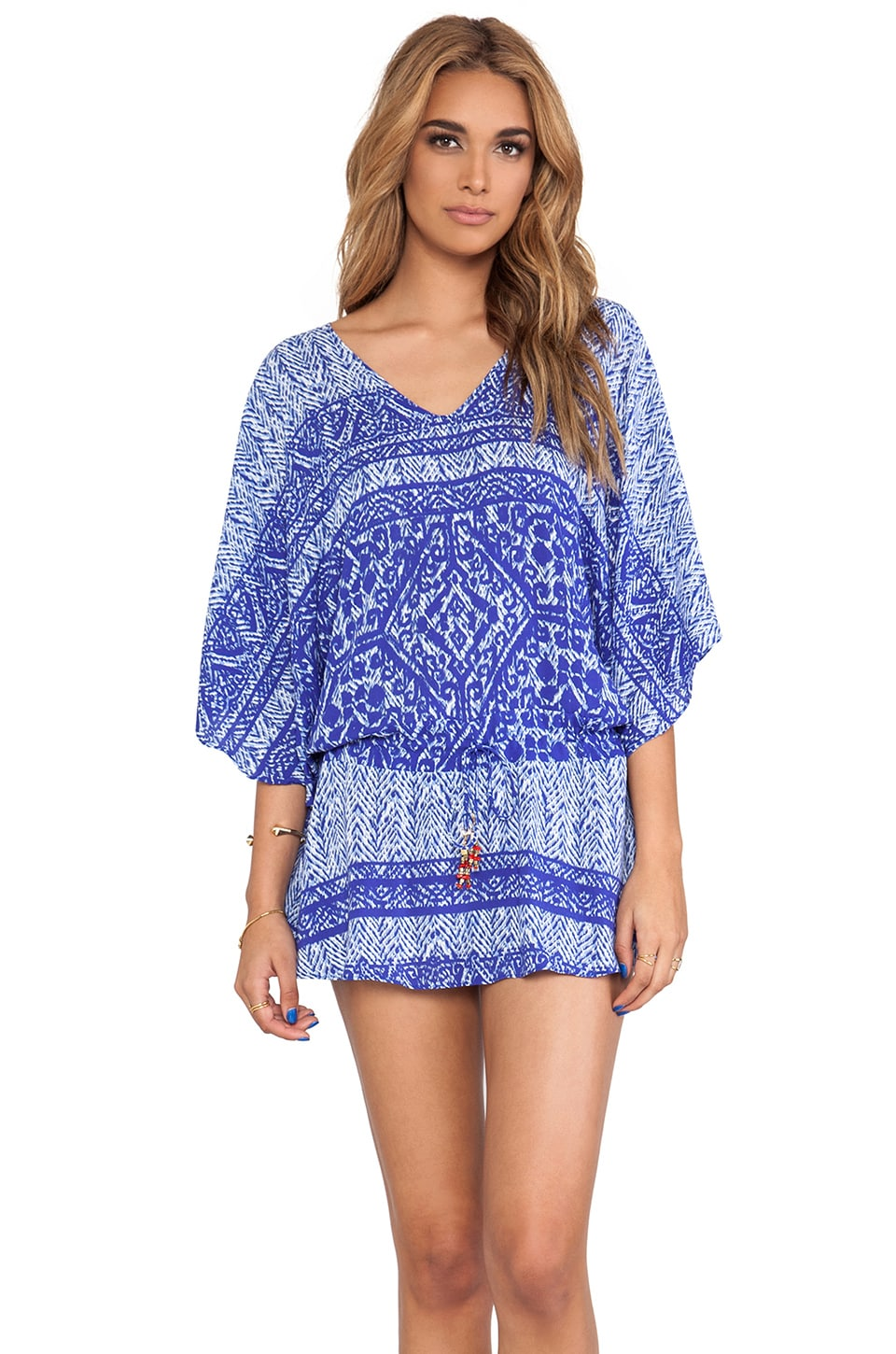 Vix Swimwear Carioca Vintage Tunic in Blue