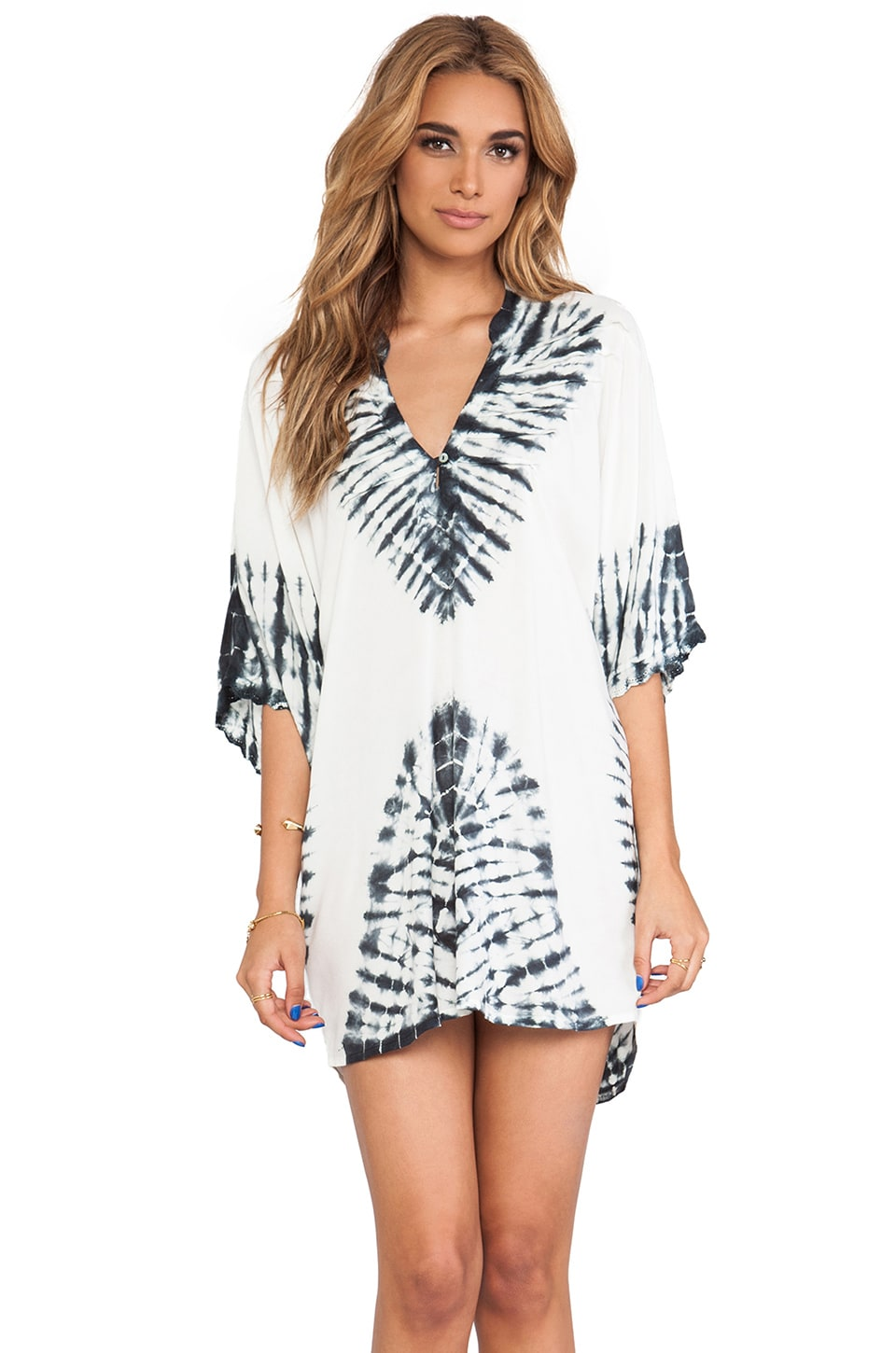 Vix Swimwear Oba Caftan in Solid