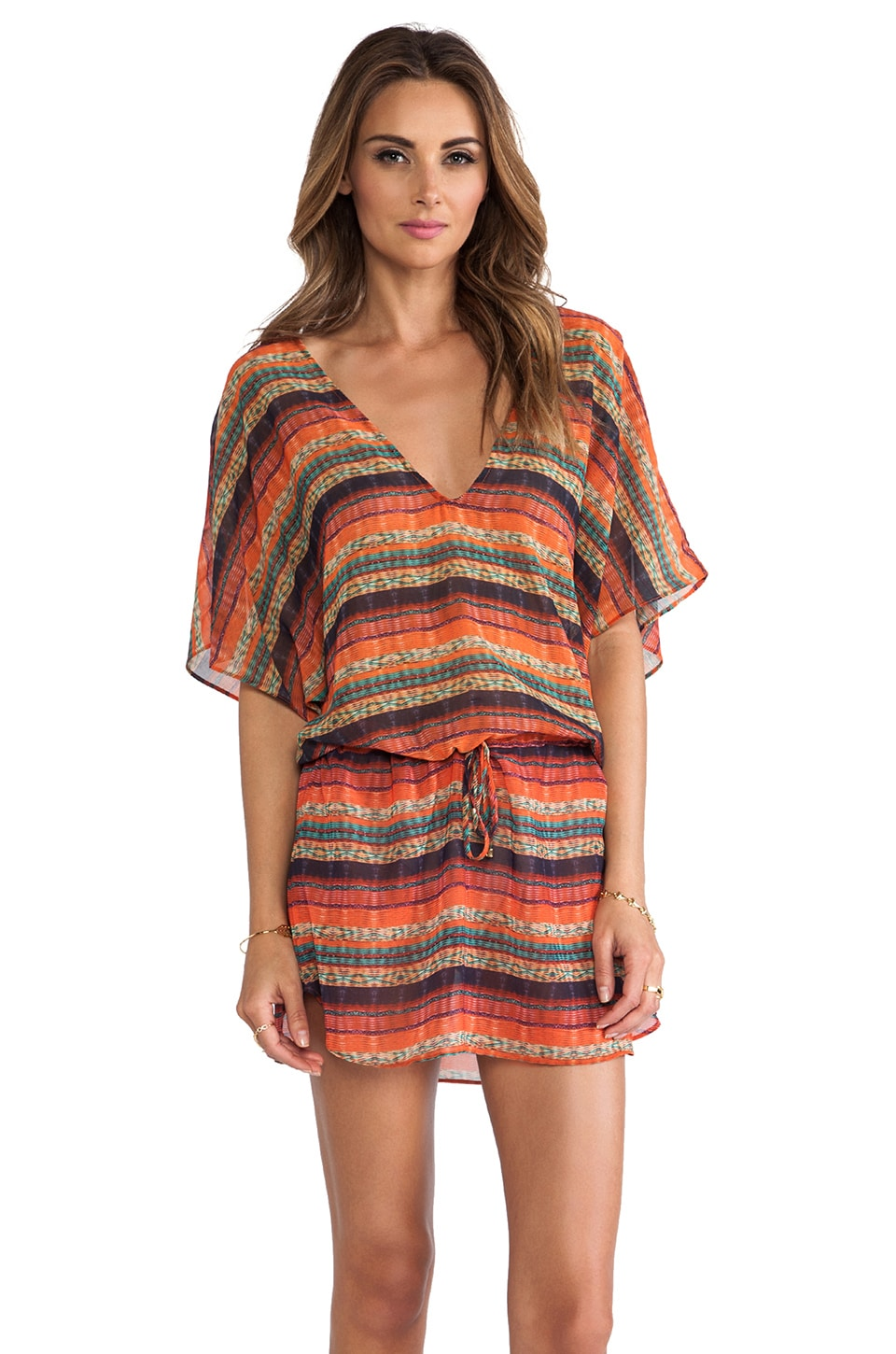 Vix Swimwear Potira Lory Caftan in Multi
