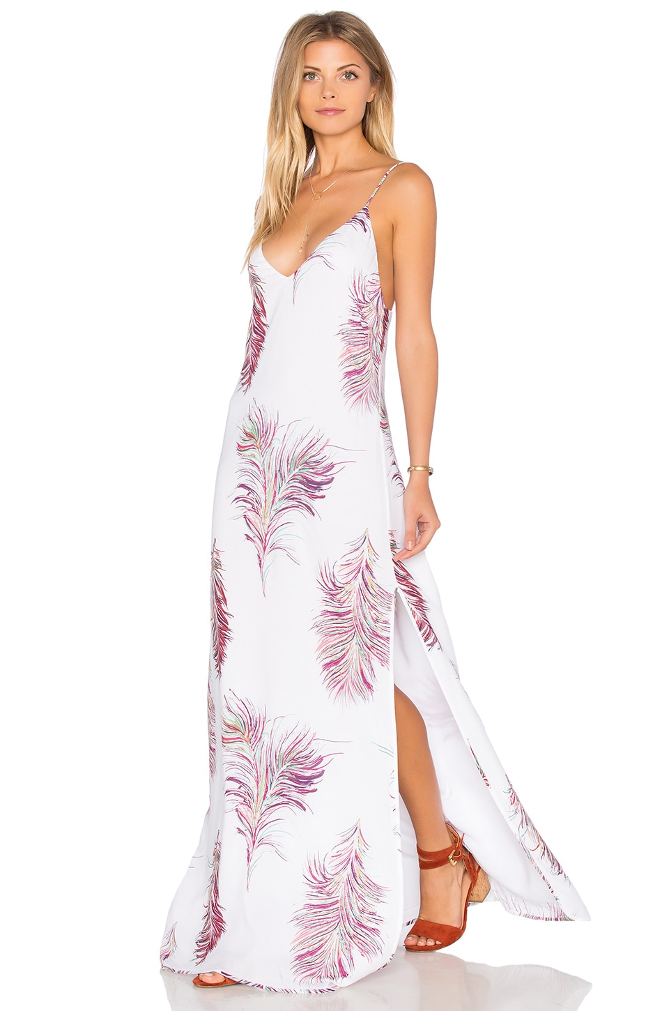 0c41cc06f386 Vix Swimwear Milos Maxi Dress in Krishna White | REVOLVE