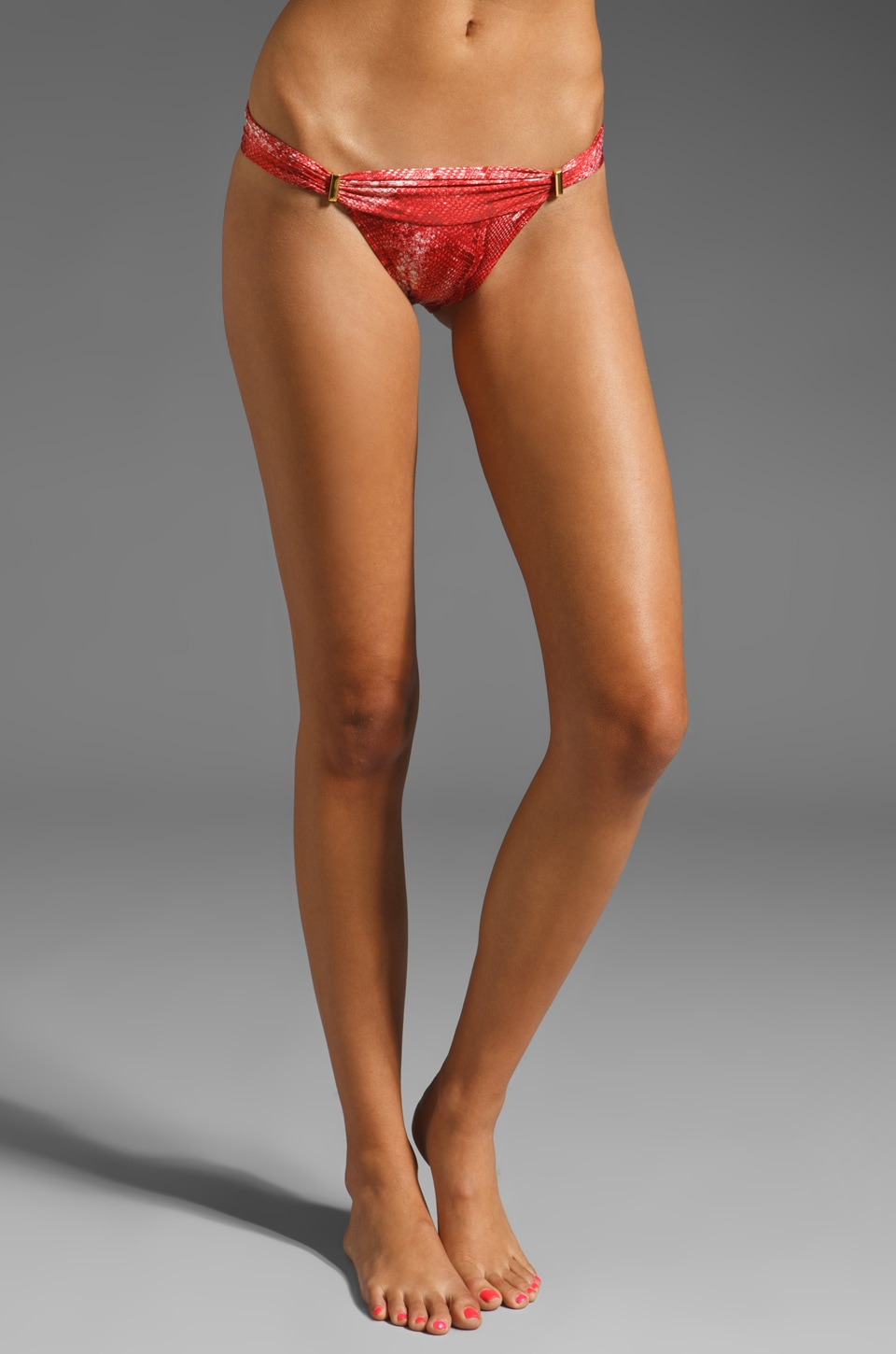 Vix Swimwear Tunisia New Band with Access Bikini Bottom in Red