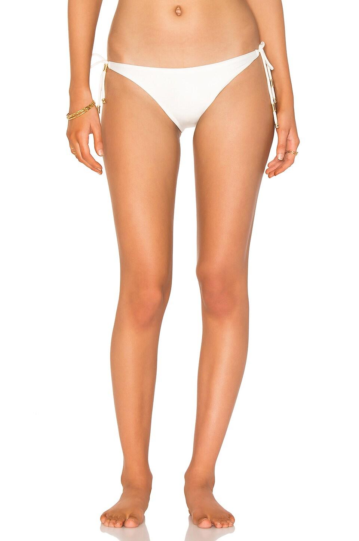 Solid Long Tie Bikini Bottom by Vix Swimwear