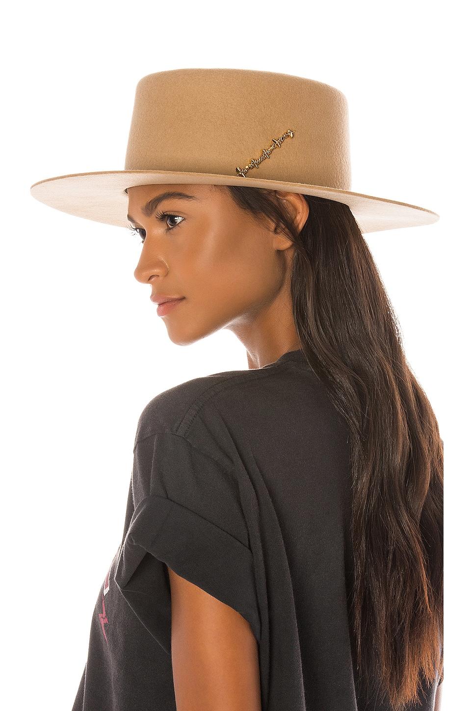 Van Palma Jade Hat in Sand