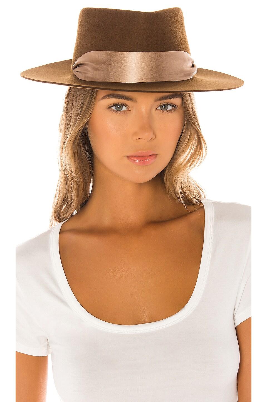 Van Palma Reine Hat in Whiskey