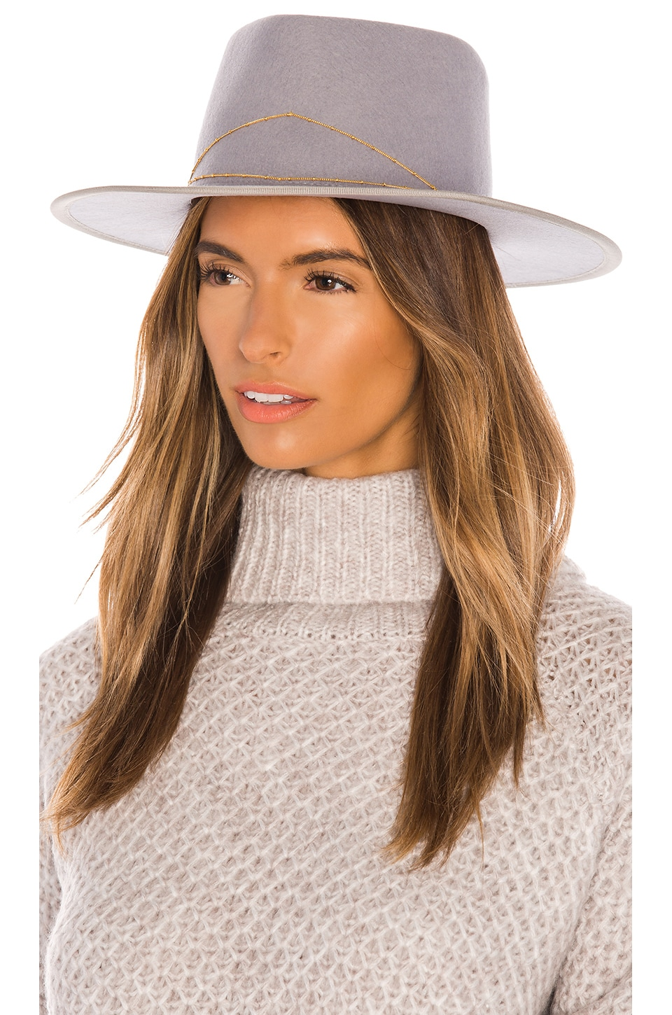 Van Palma Anna Hat in Light Grey