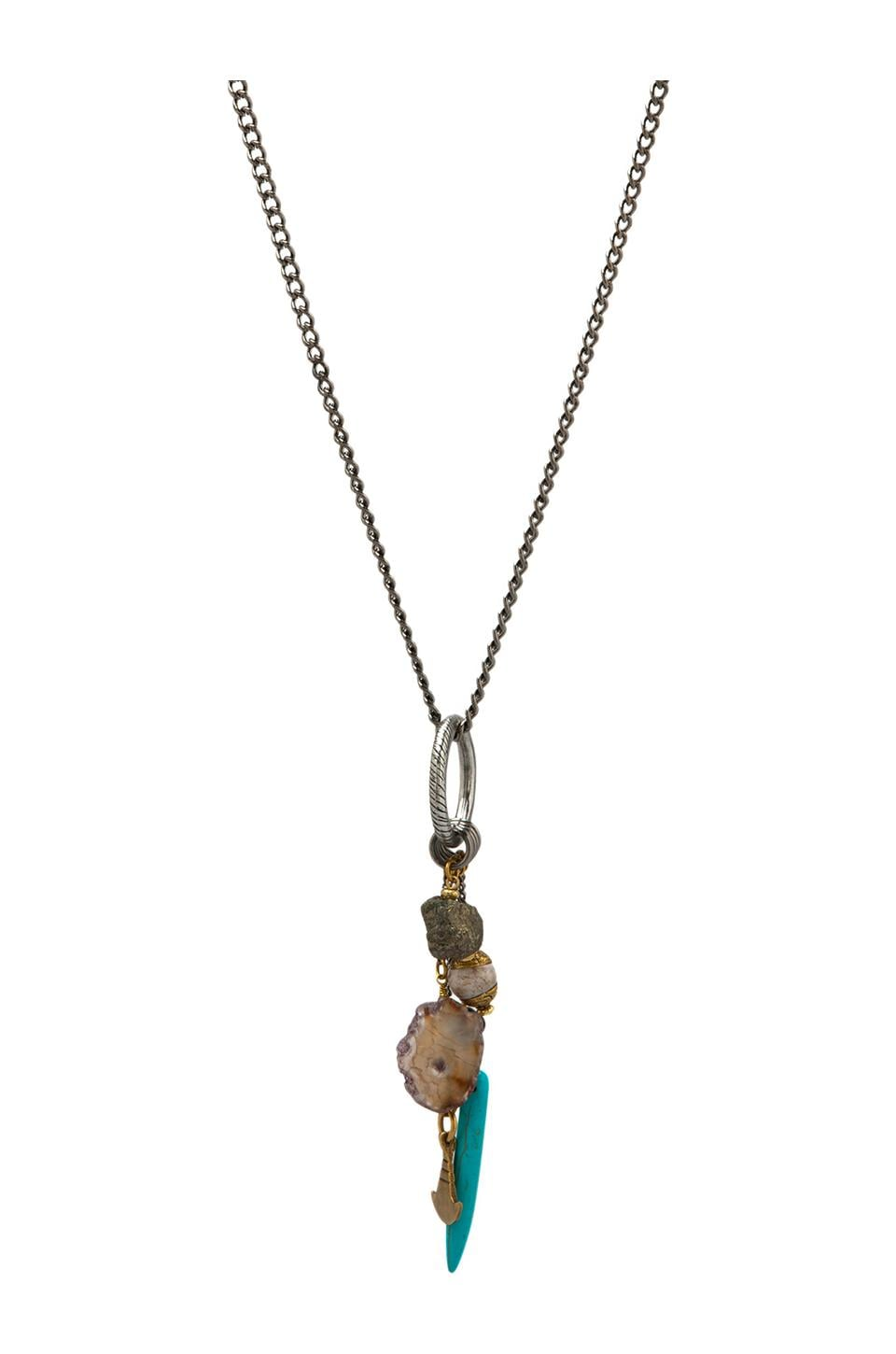 Vanessa Mooney Earth Necklace in Silver