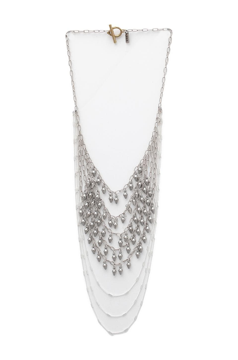 Vanessa Mooney Rock Your Gypsy Soul Necklace in Silver