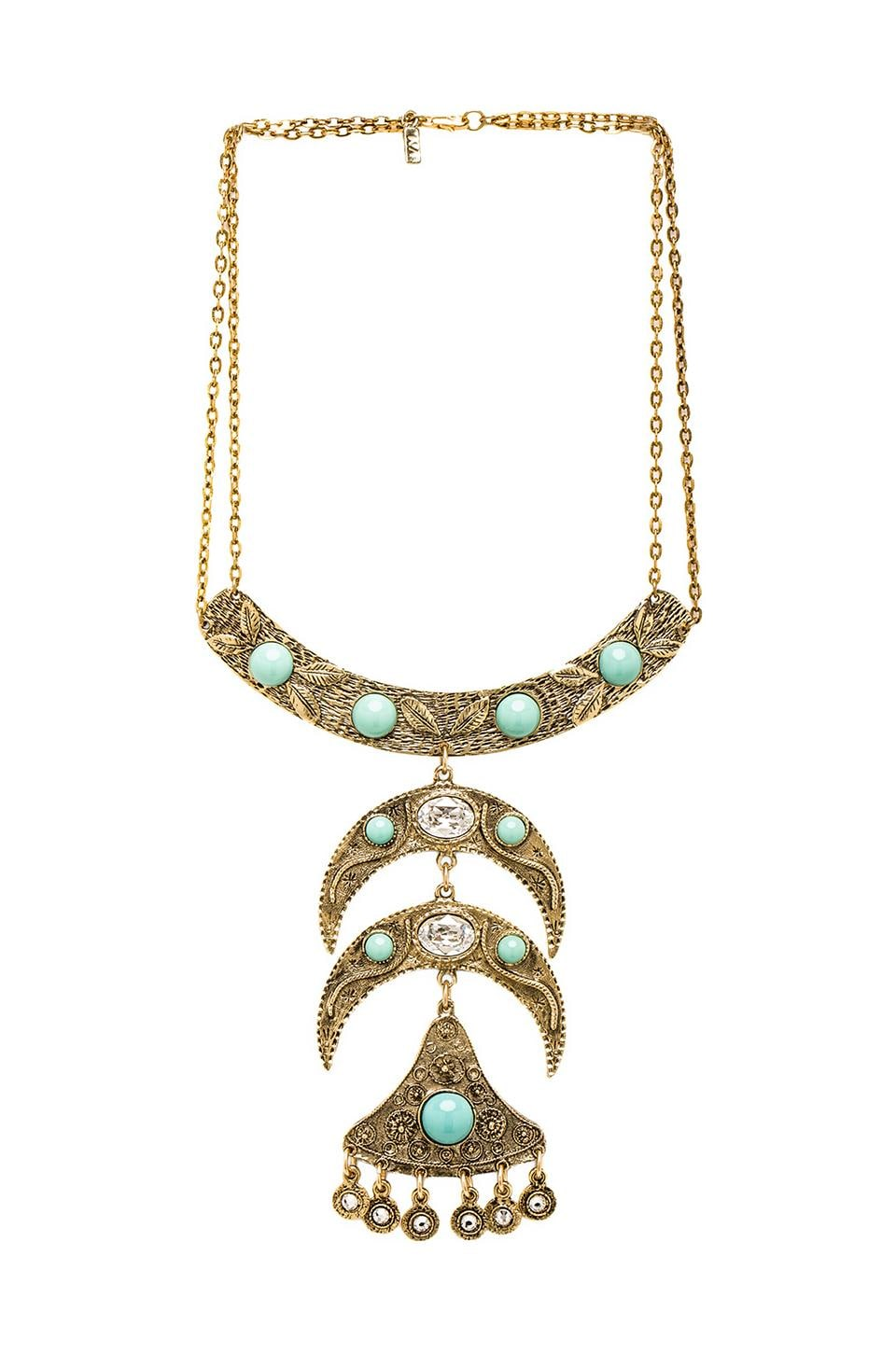 Vanessa Mooney Into the Mystic Necklace in Gold