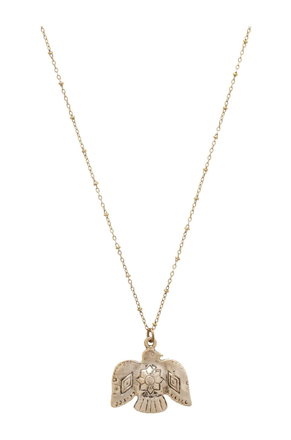 Vanessa Mooney The Sky Above Necklace in Gold