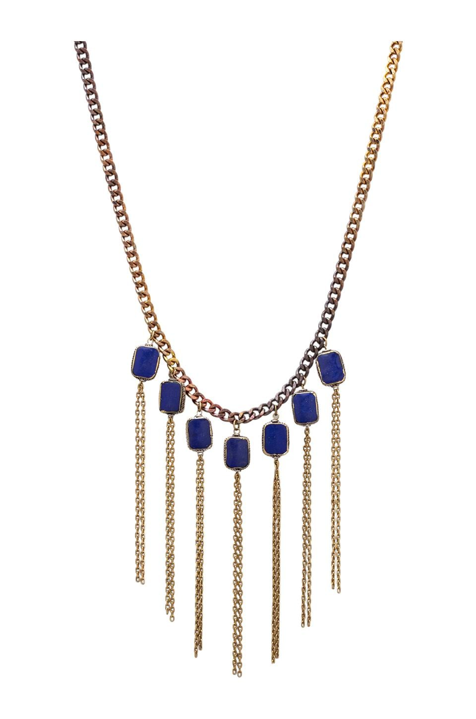 Vanessa Mooney Crazy Love Necklace in Gold