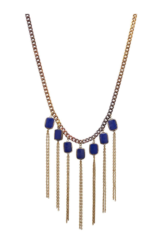 Vanessa Mooney Crazy Love Necklace in Gold