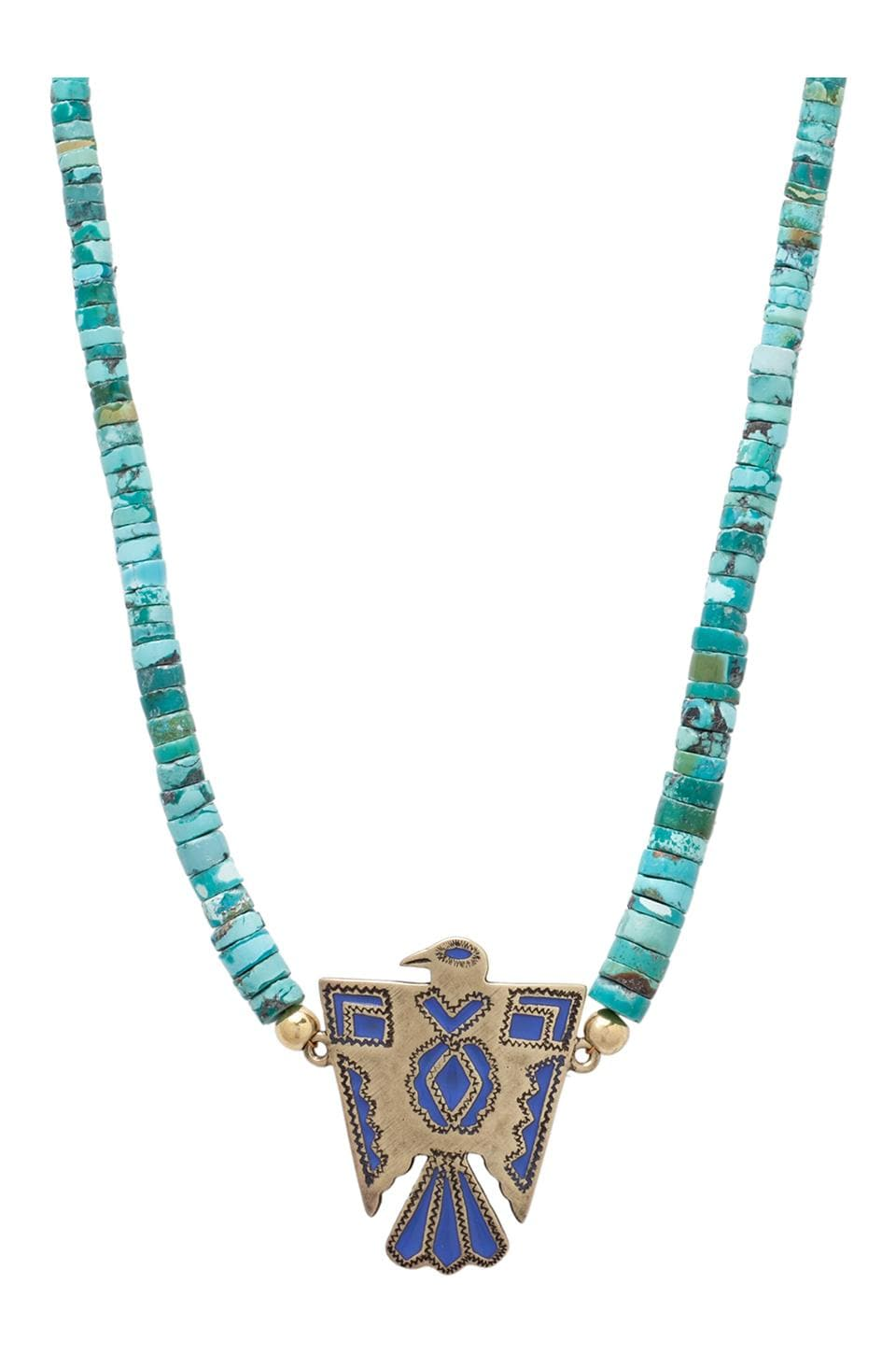 Vanessa Mooney Visions of You Necklace in Turquoise