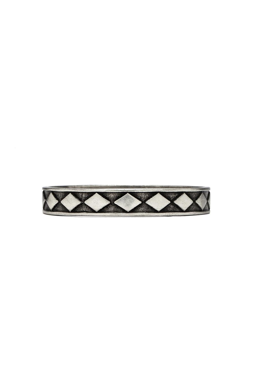 Vanessa Mooney Labyrinth Bangle in Silver